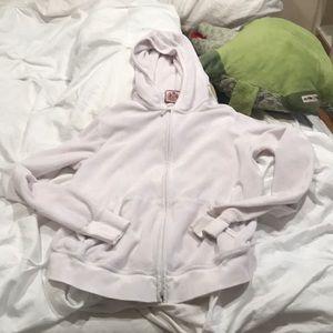 Juicy couture pale pink hoodie